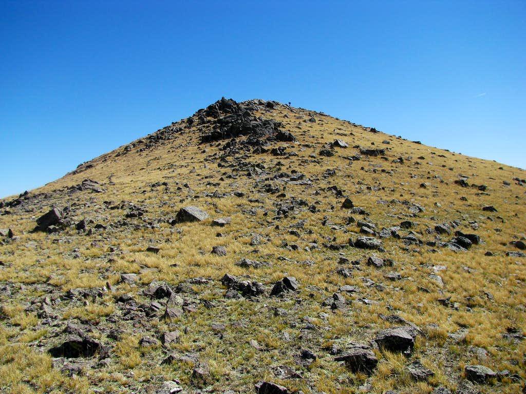 Right below the summit