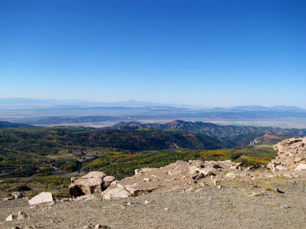 Endless vistas in Utah