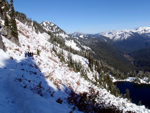 Above Trap Lake