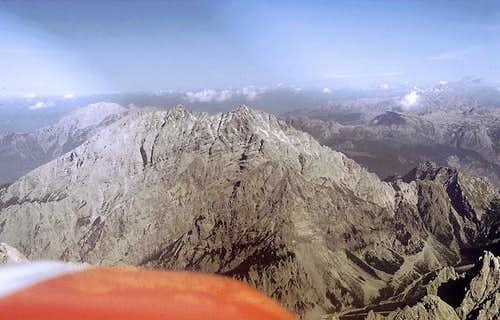 Watzmann, west face in 1985