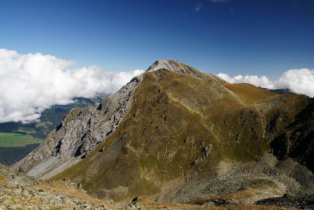 Piz Lad south ridge