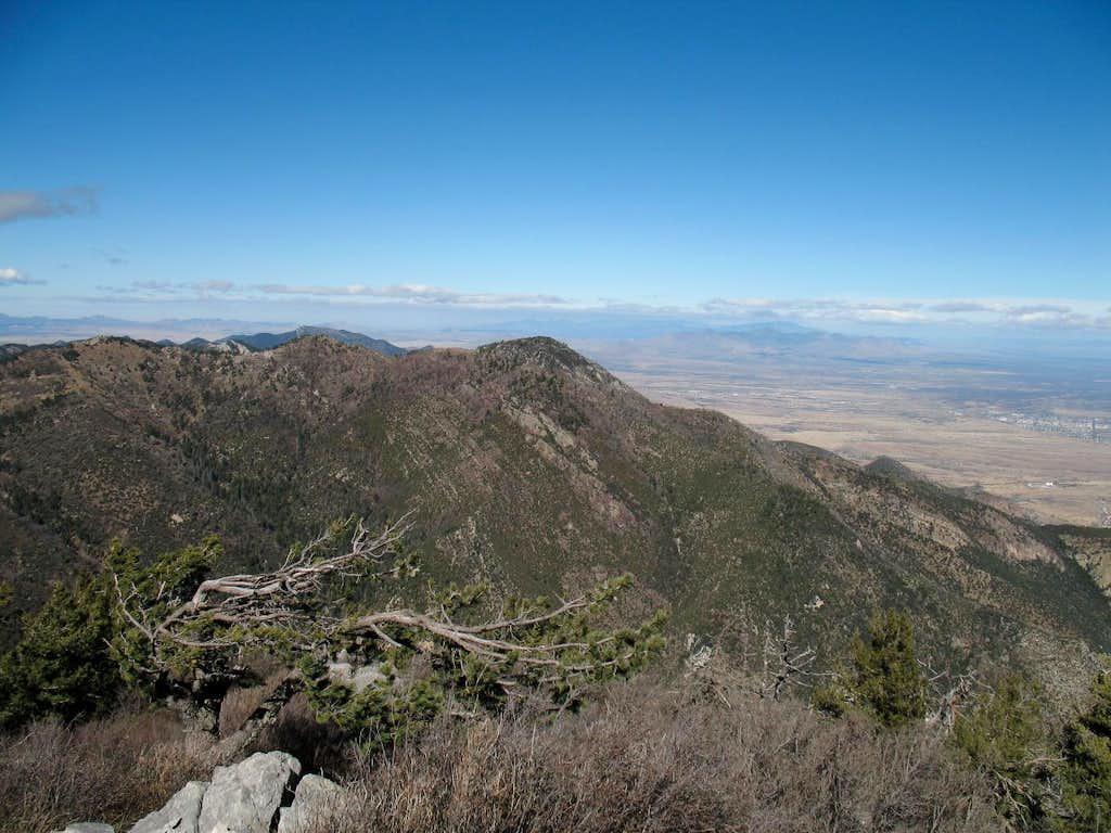 Carr Peak area as