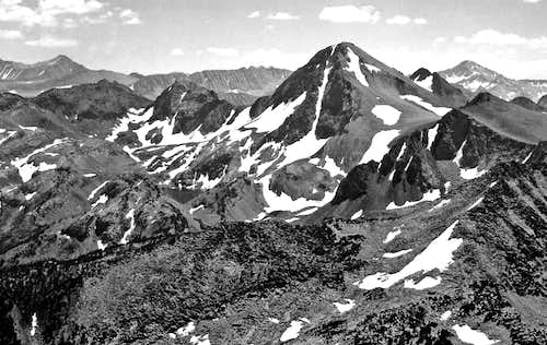 Red Slate Mtn. from Bloody Mtn.