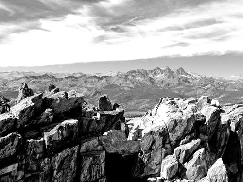 Ritter Range from the Mammoth Crest