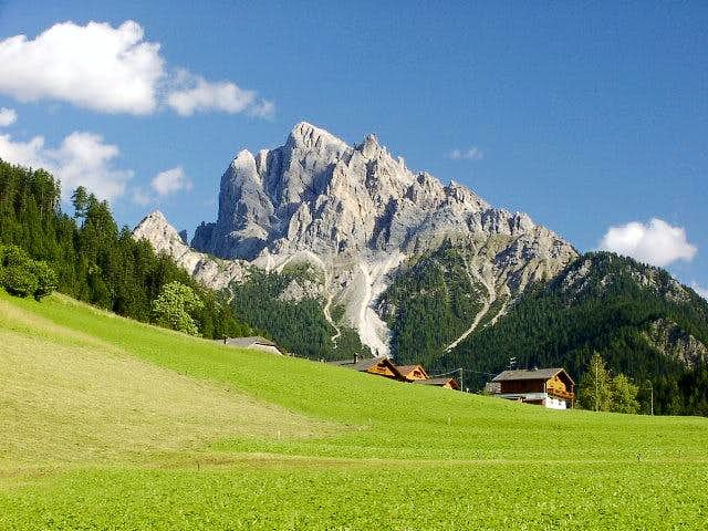 Dolomites - Blue, Brown and Green