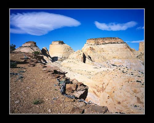 Golden Throne, Navaho Towers & Cliff Edge