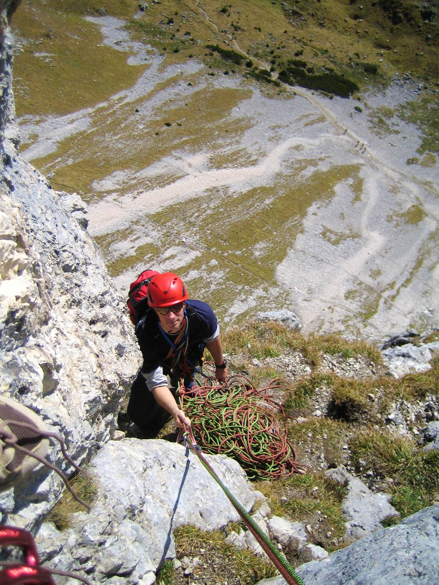 That´s what climbers are living for! Trip report of a perfect climbing day at Gimpel