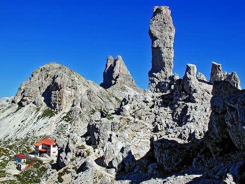 On the northern ridge of Paternkofel