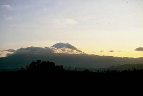 Chimborazo from the road of...