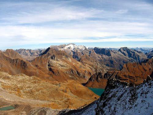 Lake of Vannino from Punta d'Arbola.