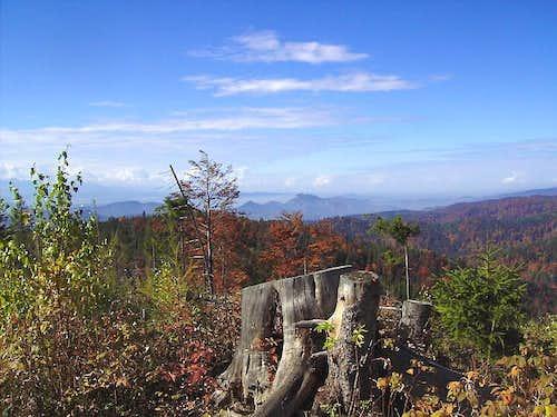 View to Pieniny - Trzy Korony
