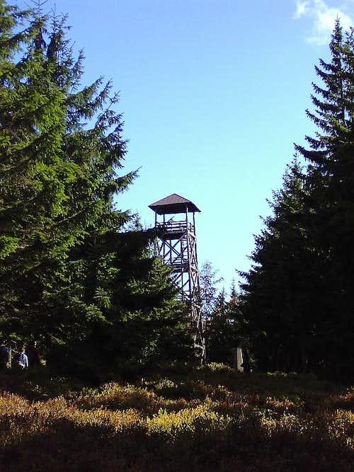 Viewing tower on top of Radziejowa