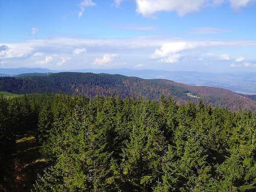 Torward Prehyba and Beskid Wyspowy