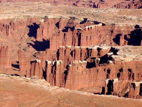 Monument Basin seen from...