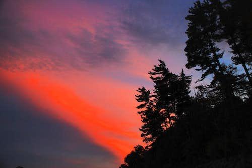 Sunset at Whitehorse Ledge