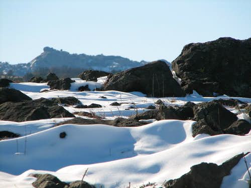 Snowfall in the Wichitas