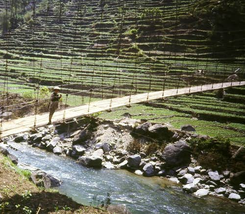 Many bridges to cross to enter Sherpa Country.