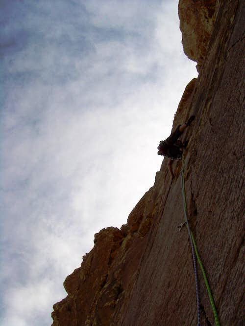Prince of Darkness, 5.10c