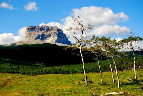 CHIEF MOUNTAIN - MOUNTAIN OF LEGENDS-GLACIER NATIONAL PARK-MT