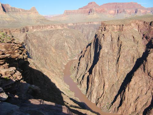 Colorado River from Plateau Point