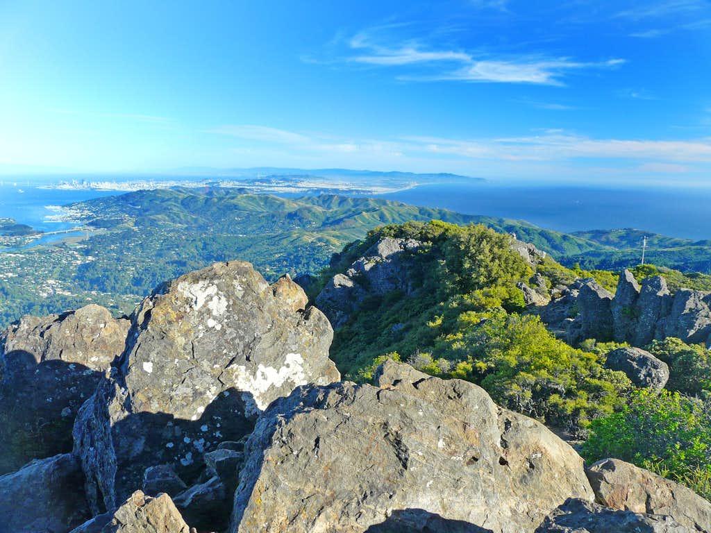 South from Mt. Tam, East Peak