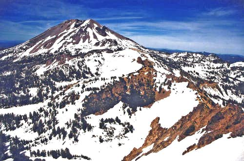 Lassen Peak from Mt. Diller