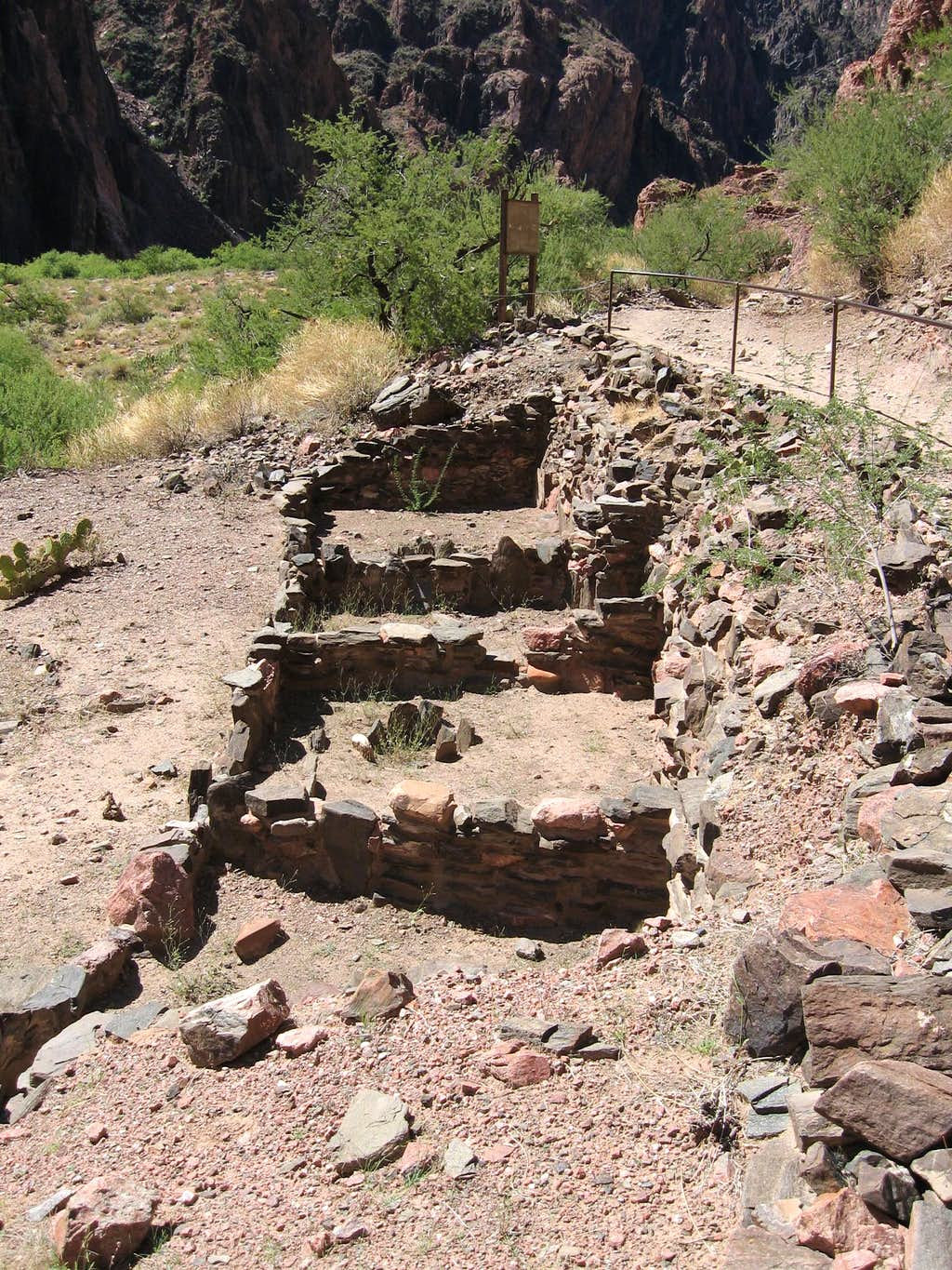 Anasazi Ruins-Phantom Ranch