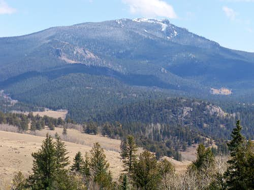 North Tarryall Peak from the West
