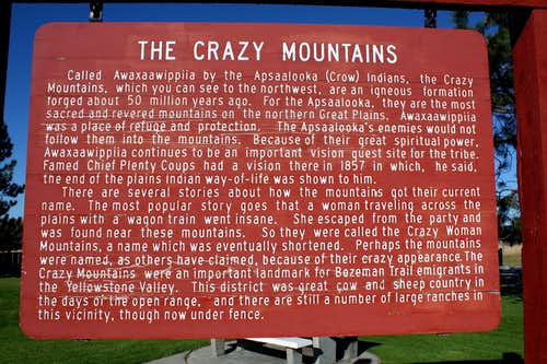 Crazy Mountains Story