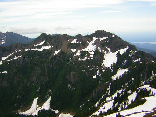 Mount Lena (East Peak)