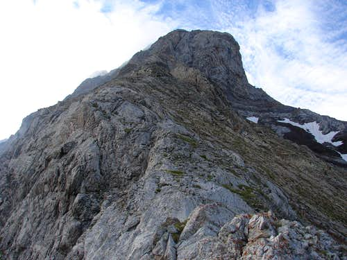 Peaks of Vallibierna, northwest ridge
