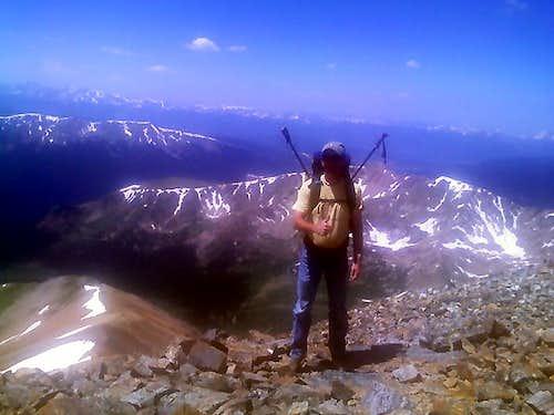 On Top Of Grays Peak 7/2008