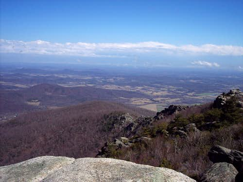 From atop Old Rag