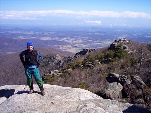 From summit of Old Rag