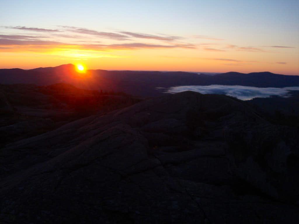 Parker Ridge sunrise
