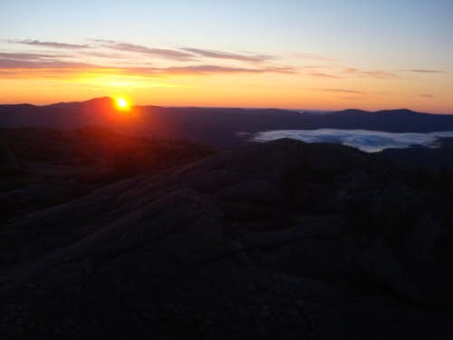 Parker Ridge sunrise