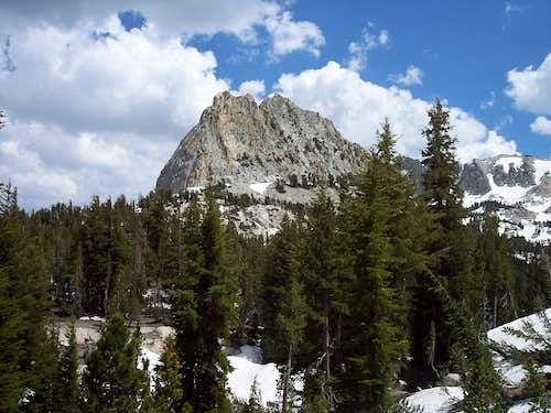 Crag from hiking trail