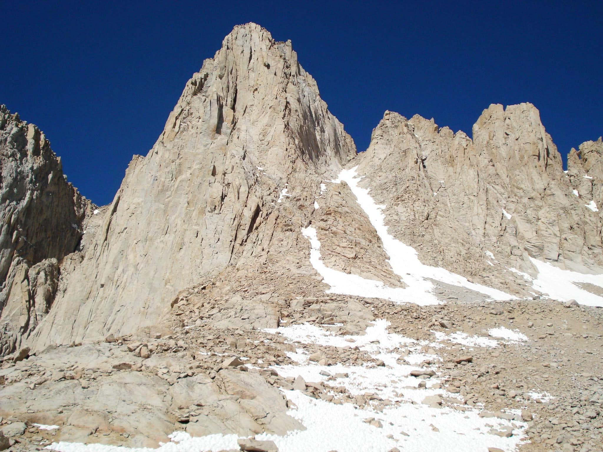 Mt. Whitney Mountaineer\'s Route
