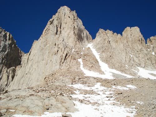 Mt. Whitney Mountaineer's Route