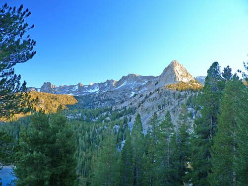 Crystal Crag and the Mammoth Crest