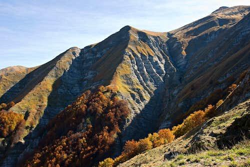 Monte Gorzano from west