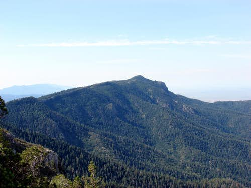 South Sandia from Point 9579