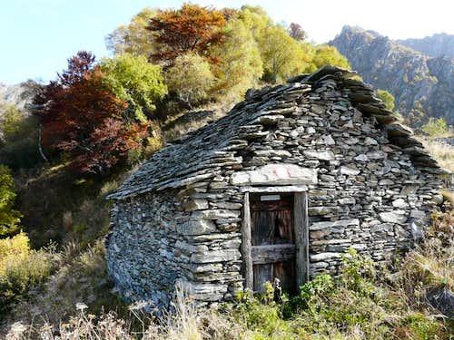 Autumn at Alpe Morgagno