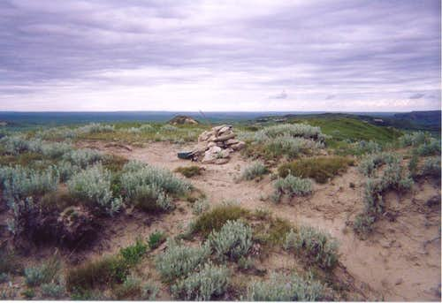 The Summit of White Butte