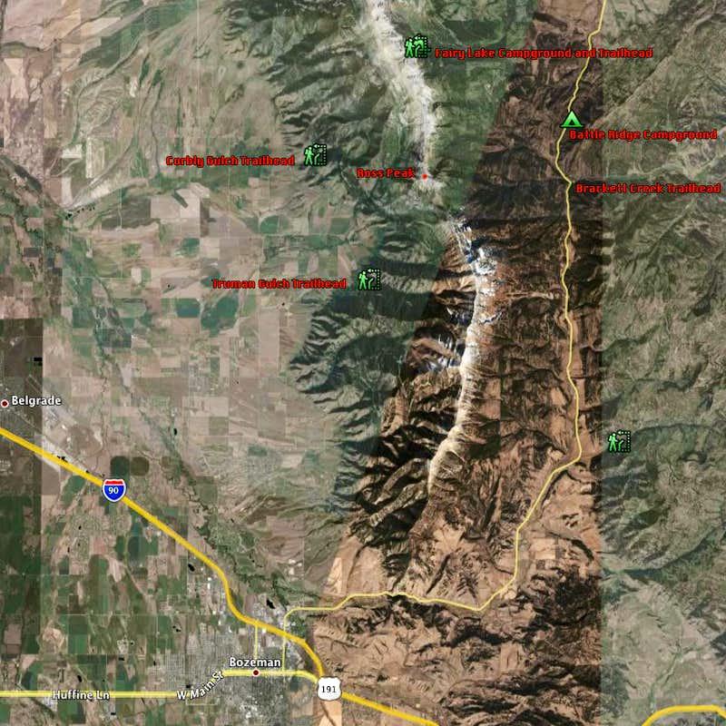 Ross Peak : Climbing, Hiking & Mountaineering : SummitPost