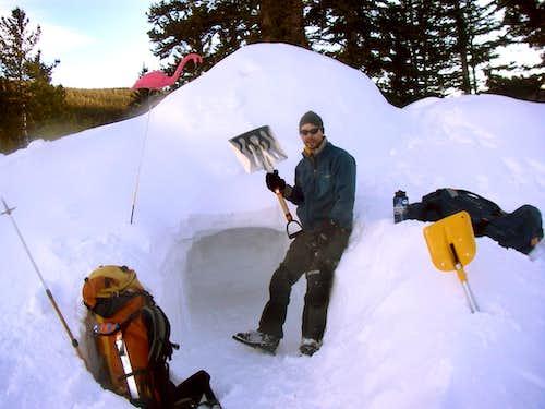Mammoth gulch Snow Caves