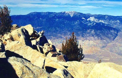 San Gorgonio Mtn. from San Jacinto Peak