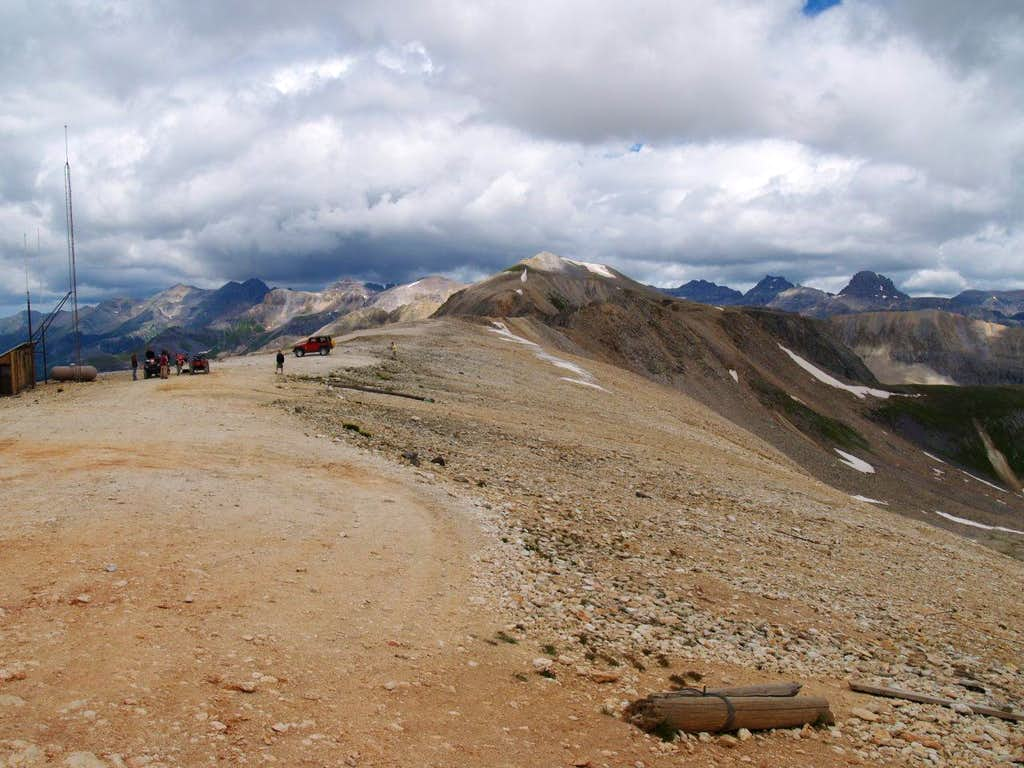 Imogene Pass Looking South