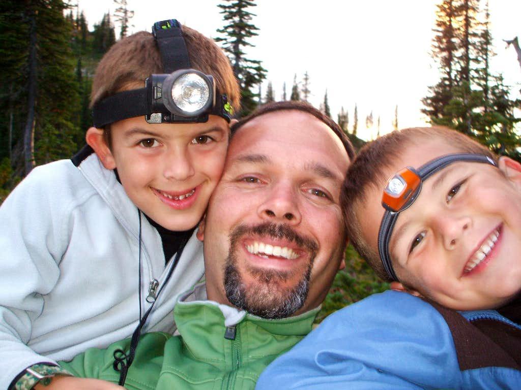 Birch lake backpacking trip