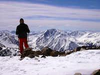 La Plata Peak in the...